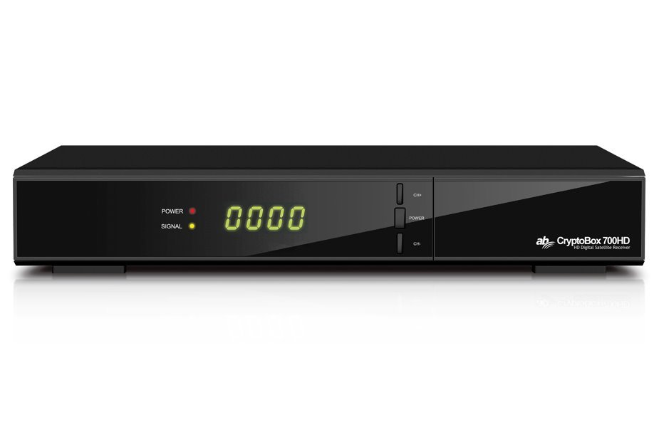 AB DVB-S/S2 přijímač Cryptobox 700HD/ Full HD/ čtečka karet/ 2x USB/ HDMI/ SCART/ LAN/ RS232