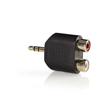 Nedis CABW22940AT - Stereofonní audioadaptér   3,5mm Zástrčka - 2x RCA Zásuvka