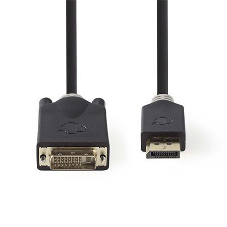 Nedis CCBW34800AT20 - Kabel HDMI – DVI   Konektor HDMI™ - DVI-D 24+1-Pin Zástrčka   2 m   Antracit