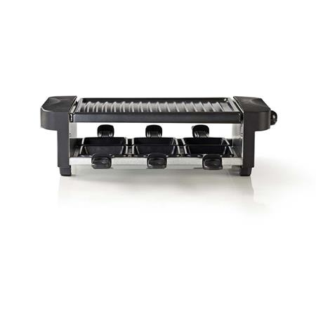 Nedis FCRA110EBK6 - Gril Raclette   Pro 6 Lidí