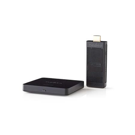 Nedis VTRA3411BK - Bezdrátový HDMI Vysílač   1080p   5 GHz   30 m   Přenosný Vysílač/Přijímač