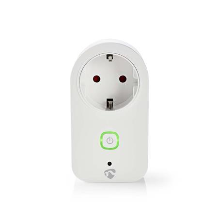 Nedis WIFIP120FWT - WiFi Chytrá Zásuvka   Monitor Napájení   Schuko Typ F   16 A