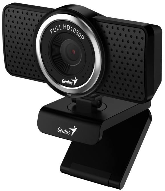 GENIUS webová kamera ECam 8000/ černá/ Full HD 1080P/ USB2.0/ mikrofon