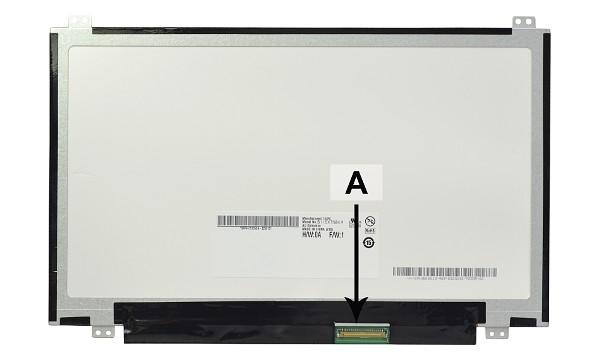 2-Power náhradní LCD panel pro notebook 11.6 WXGA HD 1366x768 LED matný 40pin