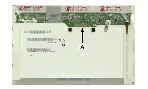 2-Power náhradní LCD panel pro notebook 12.1'' WXGA 1280x800 LED matný 30pin