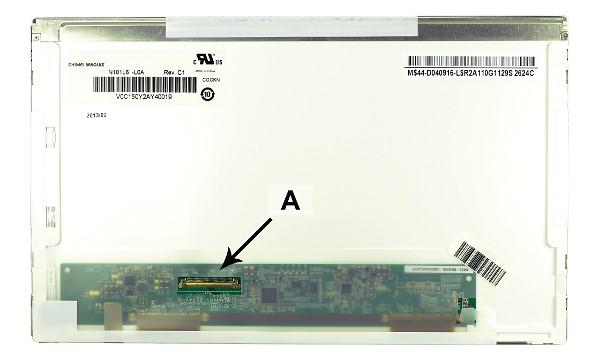2-Power náhradní LCD panel pro notebook 10.1 WSVGA 1024x600 LED matný 40pin