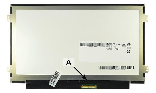 2-Power náhradní LCD panel pro notebook 10.1'' WSVGA 1024x600 LED lesklý 40pin