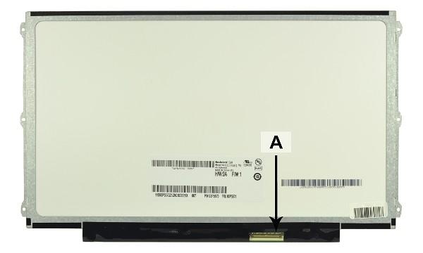 2-Power náhradní LCD panel pro notebook 12.5 WXGA HD 1366x768 LED matný 40pin