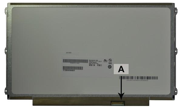 2-Power náhradní LCD panel pro notebook 12.5 WXGA HD 1366x768 LED matný 30pin