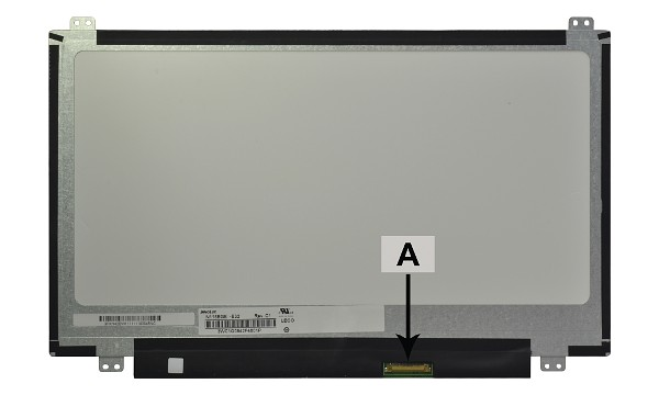 2-Power náhradní LCD panel pro notebook 11.6  WXGA HD 1366x768 LED matný 30pin