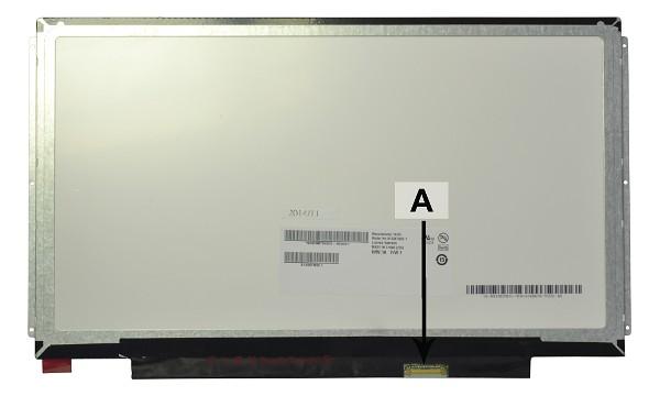 2-Power náhradní LCD panel pro notebook 13.3 1366x768 WXGA HD matný 30pin