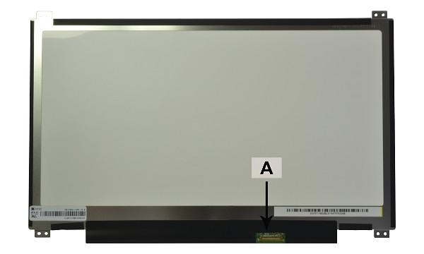 2-Power náhradní LCD panel pro notebook 13.3 1366x768 WXGA HD LED matný eDP