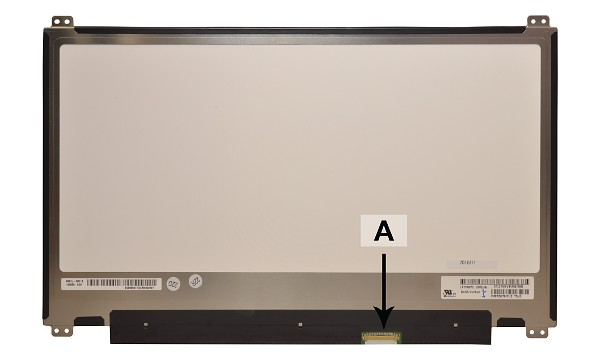 2-Power náhradní LCD panel pro notebook 13.3 1920x1080 WUXGA Full HD matný IPS