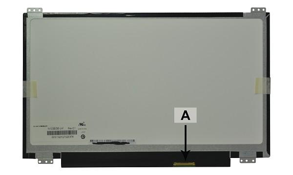 2-Power náhradní LCD panel pro notebook 13.3 1366x768 WXGA lesklý