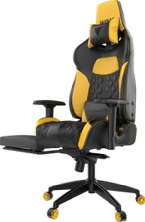 Gamdias Herní židle  ACHILLES P1-L Žlutá