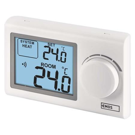 Emos P5614 pokojový termostat, manuální, bezdrátový