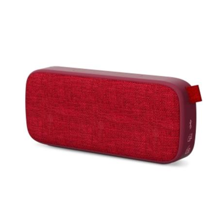 ENERGY Fabric Box 3+ Trend Cherry, přenosný reproduktor s technologiemi Bluetooth 5.0, MP3 a True Wireless Stereo