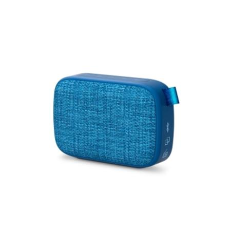 ENERGY Fabric Box 1+ Pocket Blueberry, přenosný reproduktor s technologiemi Bluetooth 5.0, MP3 a True Wireless Stereo