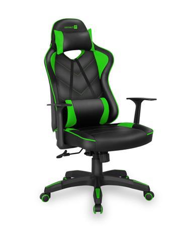 CONNECT IT LeMans Pro herní křeslo, zelené