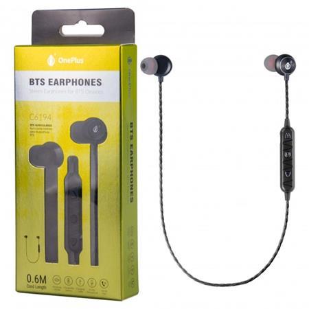 Aligator Magnetická Bluetooth sluchátka PLUS C6194, černá