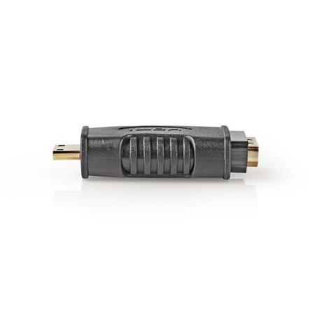 Nedis CVGB34907BK - HDMI™ Adaptér   HDMI Micro Konektor - HDMI Zásuvka   Černá barva