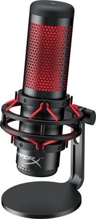 HyperX Quadcast, herní mikrofon, černý/červený