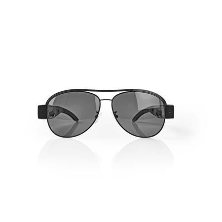Nedis SPYCGL10BK - Špionážní Kamera, Sluneční Brýle     Video 1 920 × 1 080     Foto 4 032 × 3 024     Dobíjecí