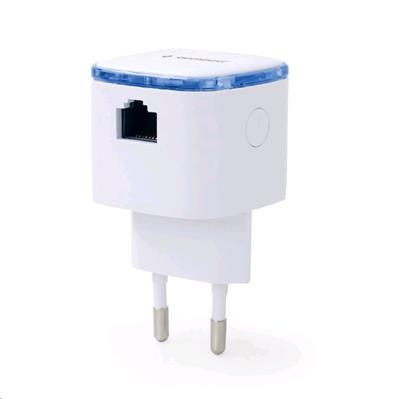 Eth WIFI repeater GEMBIRD WNP-RP300-02 300 Mbps, bílý