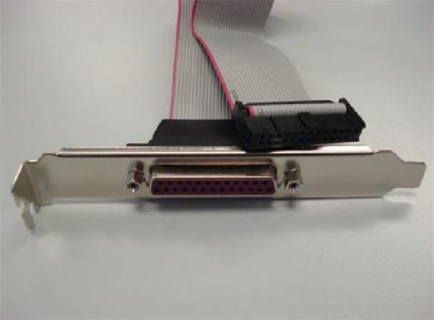 ASROCK LPT-PORT pro motherboardy ASROCK (1x LPT/PRN port 25pin, záslepka) bracket