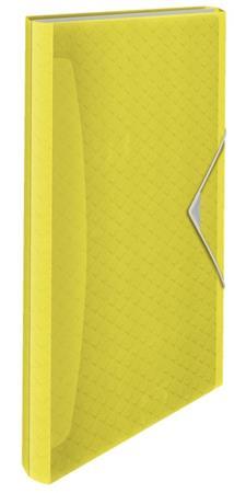 Aktovka na spisy Esselte Colour'Ice, žlutá