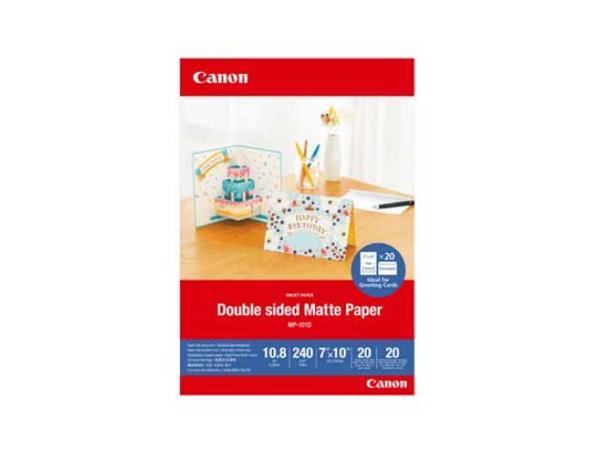 Canon fotopapír DOUBLE MATTE PHOTO PAPER 7x10 20 sheets