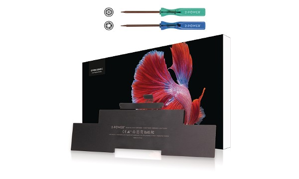 """2-Power (A1398) MacBook Pro 15"""" Mid 2012 EMC2512 3 článková Baterie do Laptopu 10,95V 8460mAh"""