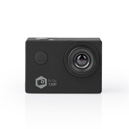 Nedis ACAM11BK - Akční Kamera   HD 720p   Wi-Fi   Vodotěsné Pouzdro