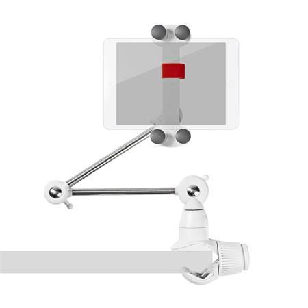"""Nedis TDMT111WT - Univerzální Držák pro Tablety a Smartphony   Skládací Rameno   4–12""""   Plně Pohyblivý"""