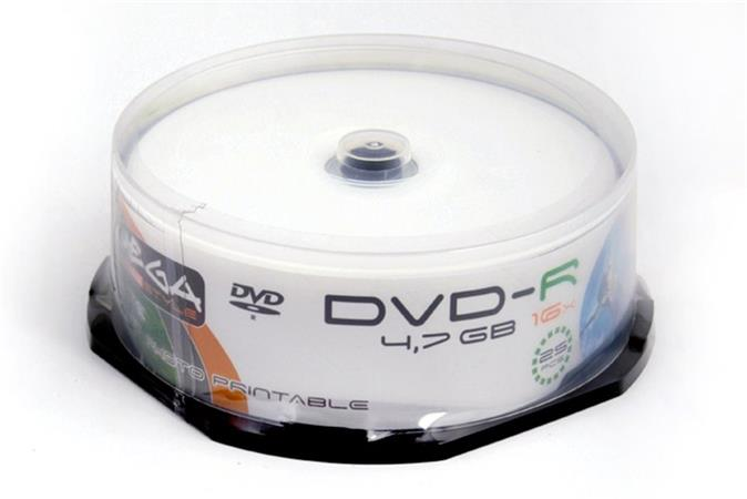 FREESTYLE DVD-R 4,7GB 16X WHITE FF INKJET PRINTABLE CAKE*25 [40194]