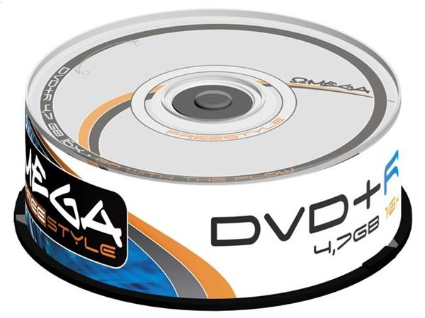 FREESTYLE DVD+R 4,7GB 16X CAKE*25 [56682]