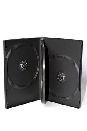 DVD BOX 14MM OMEGA VIDEO BOX 4 BLACK 56918