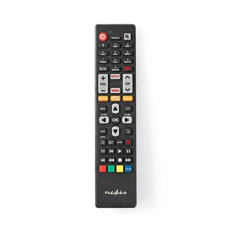 Nedis TVRC40TCBK - Náhradní Dálkový Ovladač   Thomson/TCL TV   Připraveno k Použití