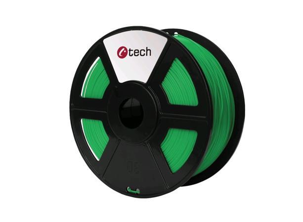C-TECH tisková struna ( filament ) , ASA, 1,75mm, 1kg, zelená