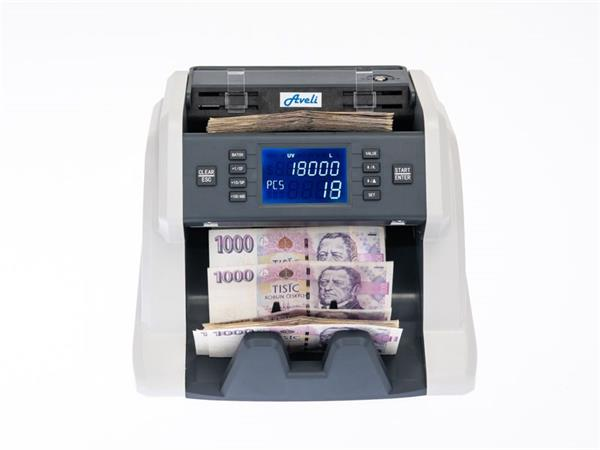 AVELI Počítačka bankovek BASIC 30