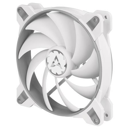 ARCTIC BioniX F140 PWM PST (Šedý/Bílý) 140x140x28 mm eSport ventilátor, 3-fázový motor, 1 800 RPM, 4-pin