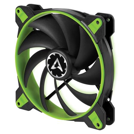 ARCTIC BioniX F140 PWM PST (Zelený) 140x140x28 mm eSport ventilátor, 3-fázový motor, 1 800 RPM, 4-pin