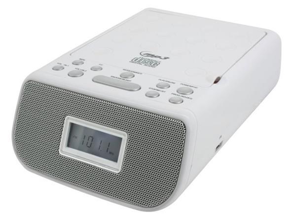 Soundmaster URD860WE/ CD přehrávč/ MP3 přehrávač/ FM/ Budík/ USB/ Bílý