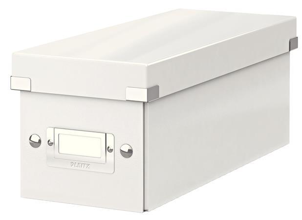 Krabice na CD Leitz Click&Store, bílá