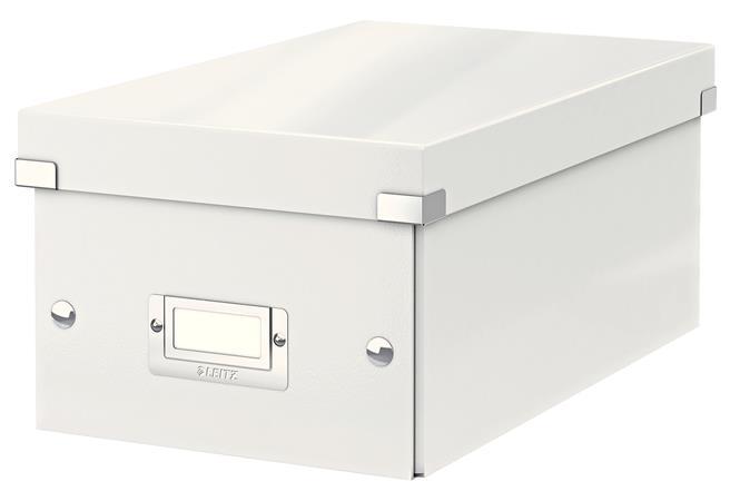 Krabice na DVD Leitz Click&Store, bílá