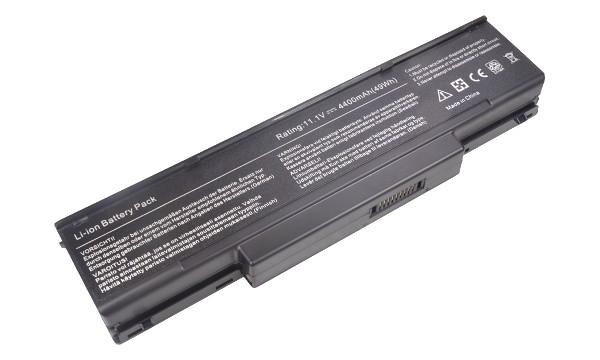2-Power baterie ( BTY-M66 BTY-M67 BTY-M68 allternative ) 6 ?lánková Baterie do Laptopu 11,1V 5200mAh