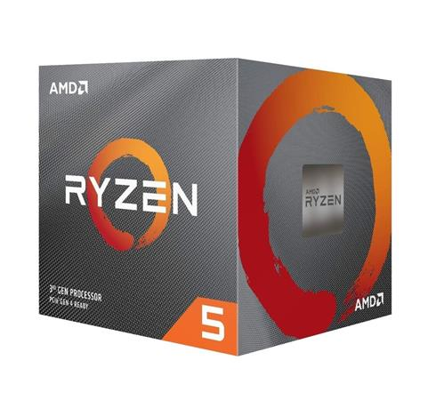 AMD cpu Ryzen 5 3500X Box AM4 (6core, 6x vlákno, 3.6GHz / 4.1GHz, 32MB cache, 65W), chladič Wraith Stealth