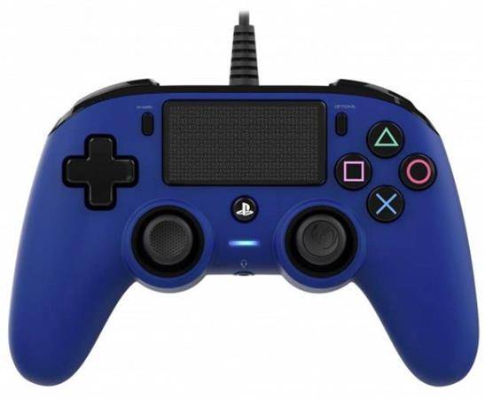 Nacon Wired Compact Controller - blue (PS4)