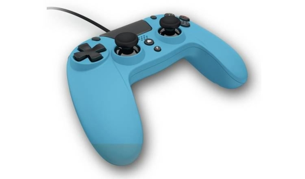 Gioteck WX4 Wired Controller - Blue (PS4/PC)