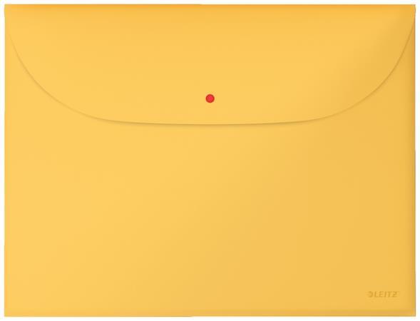 Aktovka Leitz Cosy A4, neprůhledný PP, 3 ks, teplá žlutá